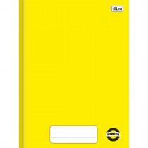 Imagem - Caderno Brochura Capa Dura 1/4 Pepper Amarelo 40 Folhas