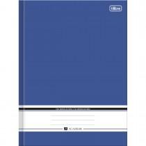 Imagem - Caderno Brochura Capa Dura Universitário com índice Académie Azul 96 Folhas