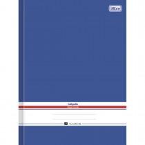 Imagem - Caderno Brochura Capa Dura Universitário Caligrafia Académie Azul 96 Folhas