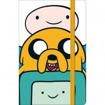 Imagem - Caderneta Costurada Fitto Adventure Time Sem Pauta 80fls