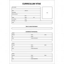 Imagem - Curriculum Vitae Folha Única - 50 Folhas