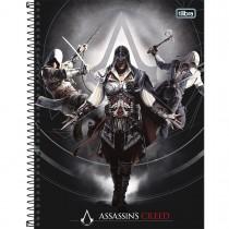 Imagem - Caderno Espiral Capa Dura Universitário 10 Matérias Assassin's Creed 200 Folhas - Sortido (Pacote com 4 unidades)...