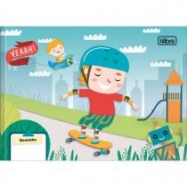 Imagem - Caderno Brochura Capa Dura Desenho Sapeca 40 Folhas - Sortido (Pacote com 15 unidades)