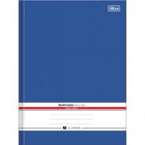 Imagem - Caderno Brochura Capa Dura Universitário Quadriculado 7x7mm Académie Azul 96 Fo...