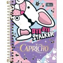 Imagem - Caderneta Espiral Capa Dura 1/8 Capricho 80F - Sortido (Pacote com 4 unidades)