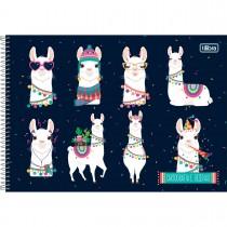 Imagem - Caderno Espiral Capa Dura Cartografia e Desenho Hello! 80 Folhas - Sortido (Pacote com 4 unidades)