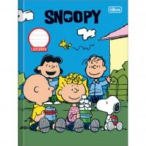 Imagem - Caderno Brochura Capa Dura Caligrafia Snoopy - 40 Folhas - Sortido (Pacote com 5 unidades)