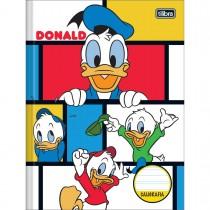 Imagem - Caderno Brochura Capa Dura Caligrafia Donald 40 Folhas - Sortido (Pacote com 5 unidades)