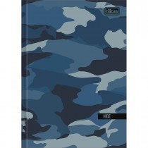 Imagem - Caderno Brochura Capa Dura 1/4 Hide 80 Folhas - Sortido (Pacote com 5 unidades)