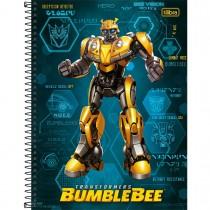 Imagem - Caderno Espiral Capa Dura Universitário Transformers 80 Folhas - Sortido (Pacote com 4 unidades)