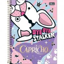 Imagem - Caderno Espiral Capa Dura Universitário 12 Matérias 240 Folhas Capricho - Sortido (Pacote com 4 unidades)...
