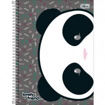 Imagem - Caderno Espiral Capa Dura Universitário 16 Matérias Lovely Friend - 320 Folhas - Sortido (Pacote com 2 unidades)...