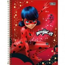 Imagem - Caderno Espiral Capa Dura Universitário 1 Matéria Miraculous: Ladybug 96 Folhas - Sortido (Pacote com 4 unidades)...