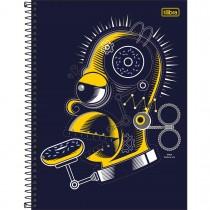 Imagem - Caderno Espiral Capa Dura Universitário 12 Matérias Simpsons 240 Folhas - Sortido (Pacote com 4 unidades)...