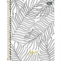 Imagem - Caderno Espiral Capa Dura Universitário 1 Matéria B&W 96 Folhas - Sortido (Pacote com 4 unidades)