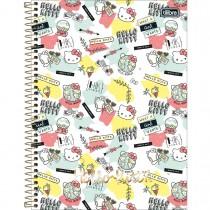 Imagem - Caderno Espiral Capa Dura Universitário 1 Matéria Hello Kitty 96 Folhas - Sorti...