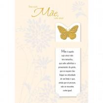 Imagem - Cartão Handmade Beauty Mães Estampa Borboleta - Grafon's