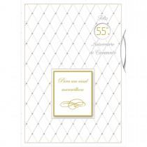 Imagem - Cartão Handmade Beauty Casamento Estampa Aniversário de Casamento - Grafon's
