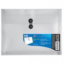 Imagem - Pasta Envelope Polipropileno 0,25mm Duplicata 330x250mm Organizer Cristal