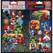 Imagem - Adesivo Decorado Duplo Avengers