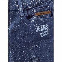 Imagem - Agenda Costurada 2 Dias por Página 12,3 x 16,6 cm Jeans 2022 - Sortido