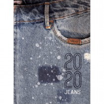 Imagem - Agenda Costurada 2 Dias por Página Jeans 2020 - Sortido
