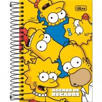 Imagem - Agenda Espiral de Recados Simpsons Tilibra Permanente