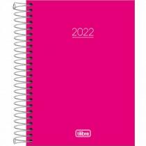 Imagem - Agenda Espiral Diária 11,7 x 16,4 cm Pepper Rosa 2022