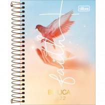 Imagem - Agenda Espiral Diária 12,9 x 18,7 cm Bíblica 2022 - Faith com Pássaro - Sortido