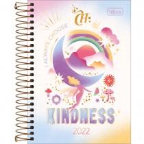 Imagem - Agenda Espiral Diária 12,9 x 18,7 cm Capricho 2022 - Kindness - Sortido