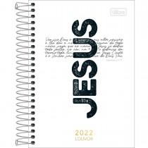 Imagem - Agenda Espiral Diária 12,9 x 18,7 cm Louvor 2022 - Cruz Jesus - Sortido