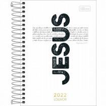 Imagem - Agenda Espiral Diária 12,9 x 18,7 cm Louvor 2022 - Sortido