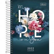 Imagem - Agenda Espiral Diária 12,9 x 18,7 cm Louvor 2022 - My Hope Is In You - Sortido