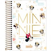 Imagem - Agenda Espiral Diária 12,9 x 18,7 cm Minnie 2022 - Stay True - Sortido