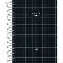 Imagem - Agenda Espiral Diária 13 x 18,8 cm Académie Feminina 2021 - Sortido