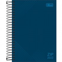 Imagem - Agenda Espiral Diária 13 x 18,8 cm Zip 2022 - Sortido