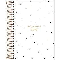Imagem - Agenda Espiral Diária 14 x 20 cm West Village 2022 - Sortido