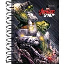 Imagem - Agenda Espiral Diária Avengers 2019 - Sortido