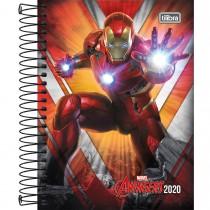 Imagem - Agenda Espiral Diária Avengers 2020 - Sortido