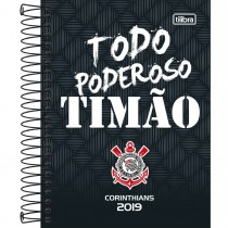 Imagem - Agenda Espiral Diária Corinthians 2019 - Sortido