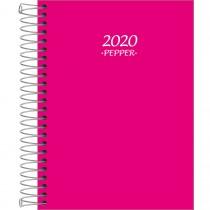 Imagem - Agenda Espiral Diária Pepper Rosa 2020