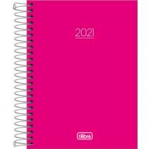 Imagem - Agenda Espiral Diária Pepper Rosa 2021