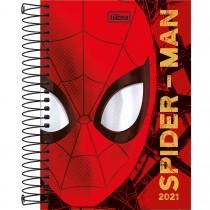 Imagem - Agenda Espiral Diária Spider-Man 2021 - Sortido
