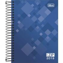 Imagem - Agenda Espiral Diária Zip 2019 - Sortido
