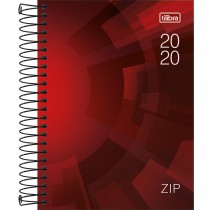 Imagem - Agenda Espiral Diária Zip 2020 - Sortido