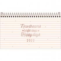 Imagem - Agenda Espiral Semanal 16,7 x 8,9 cm Soho 2022 - Sortido
