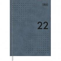 Imagem - Agenda Executiva Costurada Diária 12,3 x 16,6 cm Prátika Master 2022 - Azul