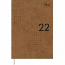Imagem - Agenda Executiva Costurada Diária 14,5 x 20,5 cm Prátika Cores 2022 - Sortido
