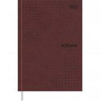 Imagem - Agenda Executiva Costurada Diária 14,5 x 20,5 cm Prátika Permanente - Bordô