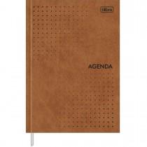 Imagem - Agenda Executiva Costurada Diária 14,5 x 20,5 cm Prátika Permanente - Caramelo